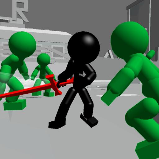 動作App|Stickman Killing Zombie 3D LOGO-3C達人阿輝的APP