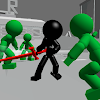 Stickman Killing Zombie 3D