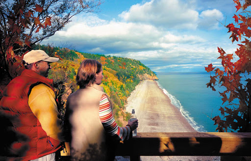 Go hike the Fundy Trail, one of the most popular outdoor pastimes for visitors to the New Brunswick area.