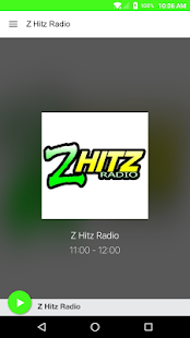 Z Hitz Radio- screenshot thumbnail