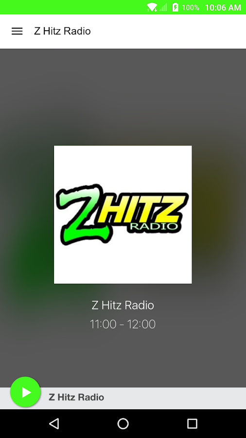 Z Hitz Radio- screenshot