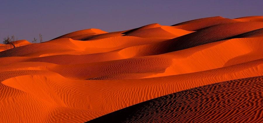 Tunisian Desert (3) by Amas Art - Landscapes Deserts ( sand, desert, red, summer, africa )