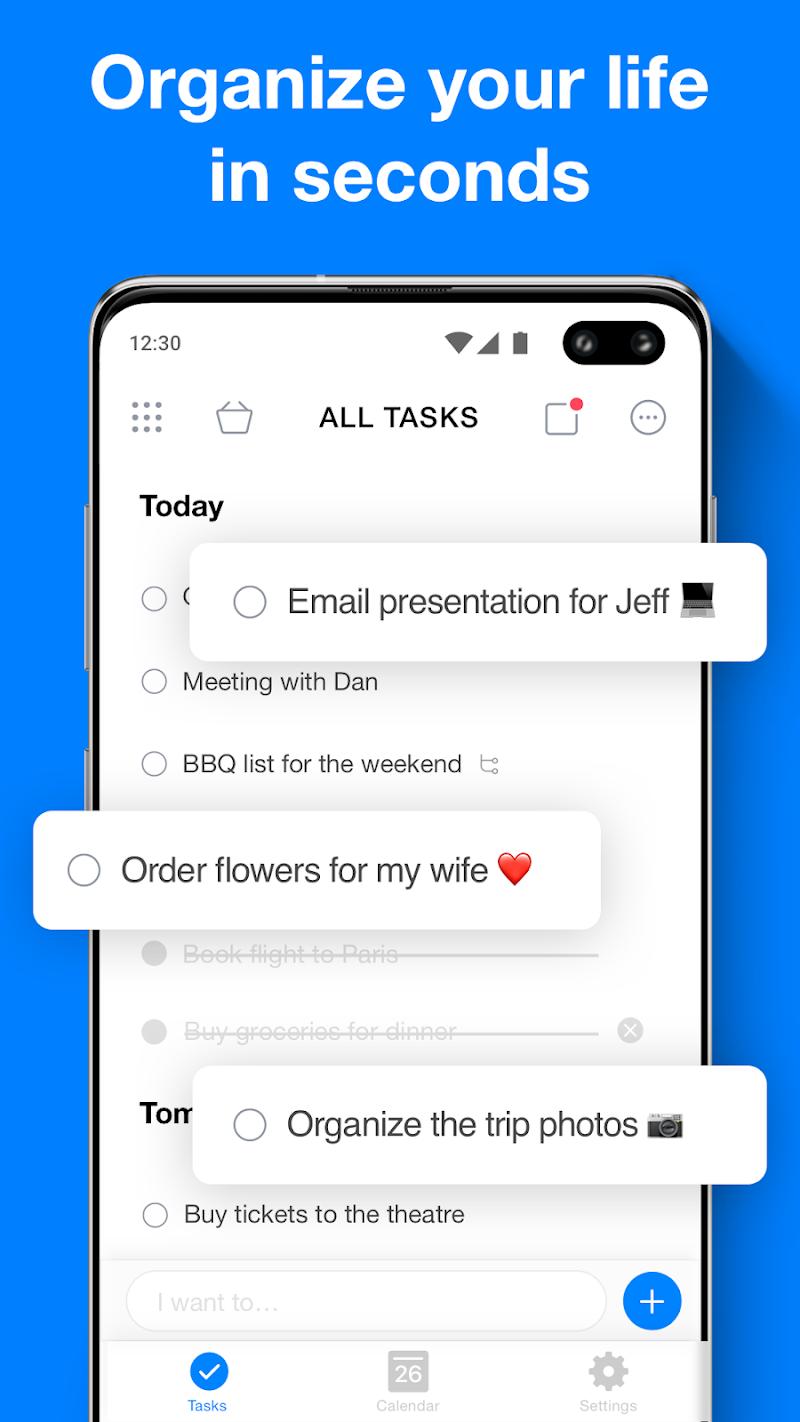 Any.do: To do list, Calendar, Reminders & Planner Screenshot 0