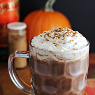 Kahlúa Pumpkin Spice Hot Chocolate