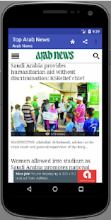 Top Arab News - náhled