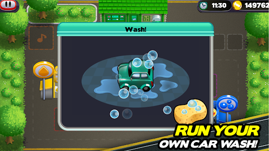 Tiny Auto Shop Car Wash and Garage Game 1.3.7 MOD (Unlimited Money) 3