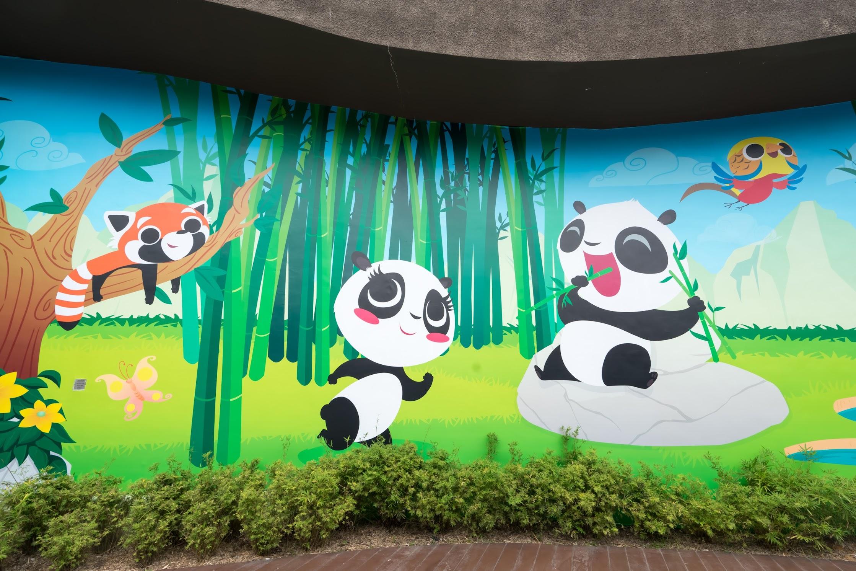 Singapore River Safari Giant Panda Forest
