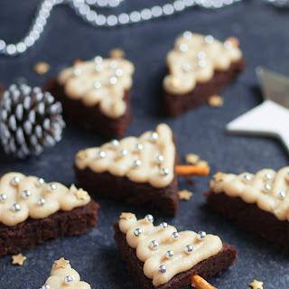 Christmas Tree Brownies - Vegan & Gluten-free