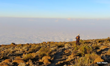 Photo: Always running above the clouds was a treat