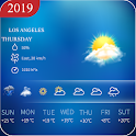 Daily Weather Live Forecast App Hourly,Weekly 2019 icon