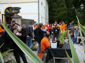Photo: The EEE 2008 in Mira, Italy. The great and funny plant auction.