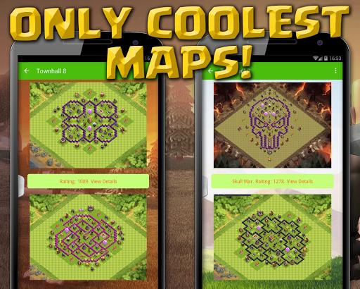 對部落衝突的最佳基地|玩書籍App免費|玩APPs