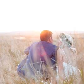 by Junita Stroh - Wedding Bride & Groom ( wedding photography, wedding, sunset, wedding day, bride and groom, destination wedding photographers )