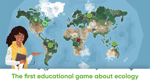 Save Earth.Offline ecology strategy learning game apkdemon screenshots 1