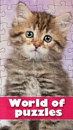 World of puzzles - best classic jigsaw puzzles APK screenshot thumbnail 1