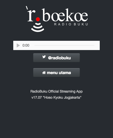Radio Buku Official Streaming- screenshot