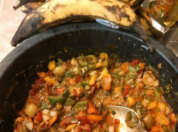 Serve As A Salsa Cold.  If Used As A Base For Shrimp Or Chicken (add: Veg. Or Chicken Broth) (add: Can Of Spiced Tomatoes And Cup Of Water) Boil Down And Cook Meats In Broth.. And Serve!!