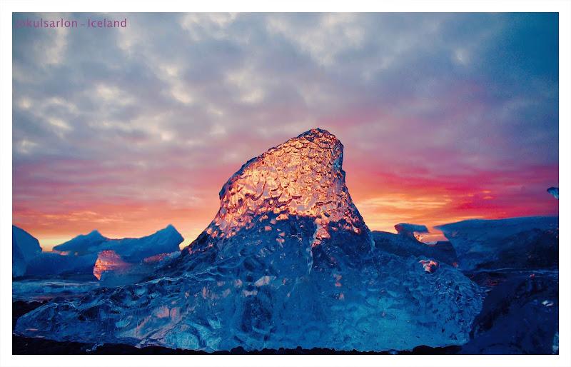 Iceland....scultura di ghiaccio di @ugogiphoto
