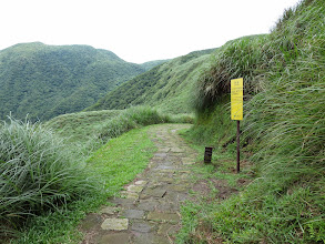 "Photo: Part of the ""fish trail"" a path that ran through the mountains from Taipei to the coast.  Travelled by fishermen and other tradespeople historically"