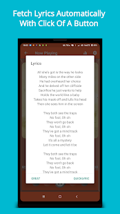 Purple Player Pro: Music Player App Screenshot