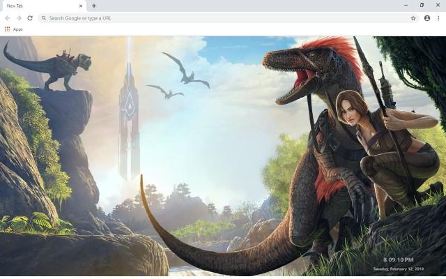 Ark: Survival Evolved New Tab
