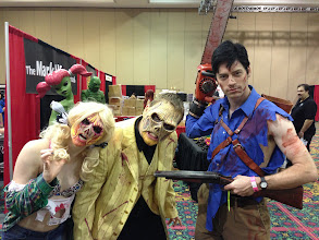 Photo: Ash and some Deadites from Evil Dead: The Musical