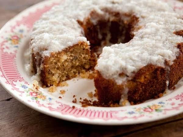 Grandma Yearwood's Coconut Cake With Coconut Lemon