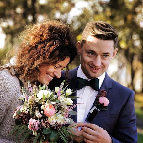 Wedding photographer Justyna Dura (justynadura). Photo of 10.11.2017