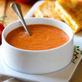 Creamy Tomato Basil Soup (Instant Pot)