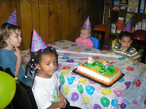Photo: waiting to cut the cake