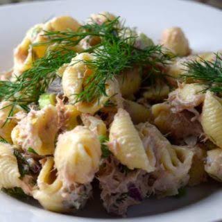 Dill Tuna Pasta Salad.