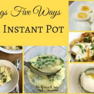 Korean Style Steamed Eggs.