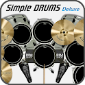 Simple Drums Deluxe - барабаны icon