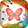 Coloring Book Butterfly APK icon