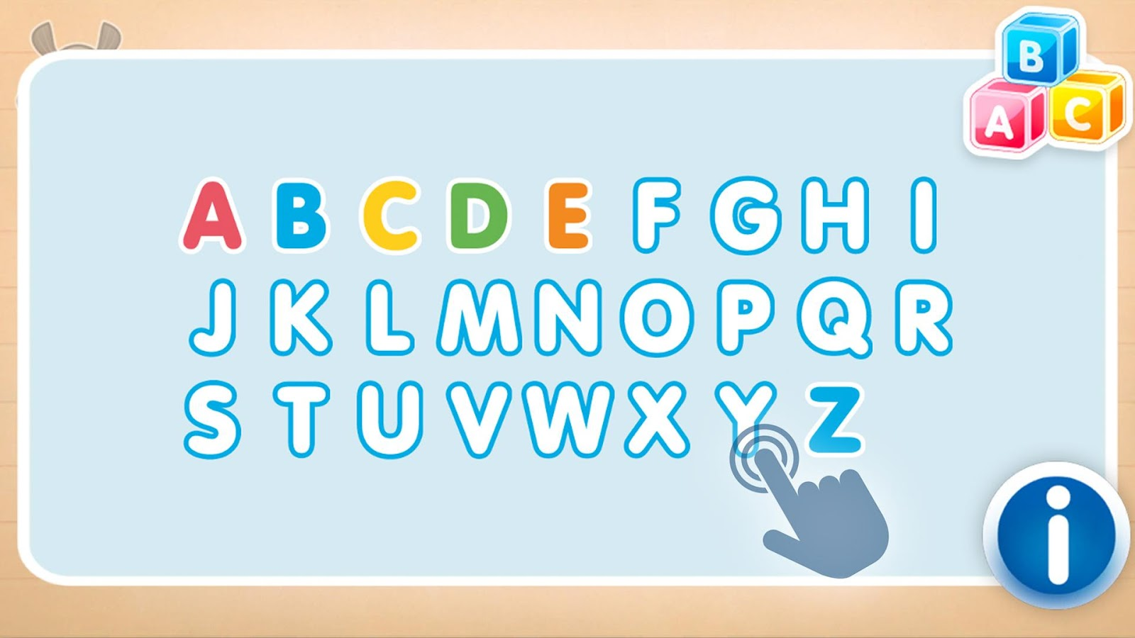 Badanamu Alphabet Talk and Trace