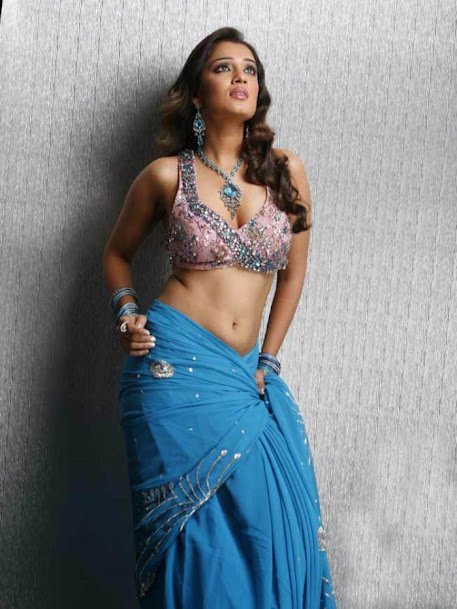 Nikitha Thukral navel photos, Nikitha Thukral hot pics in saree