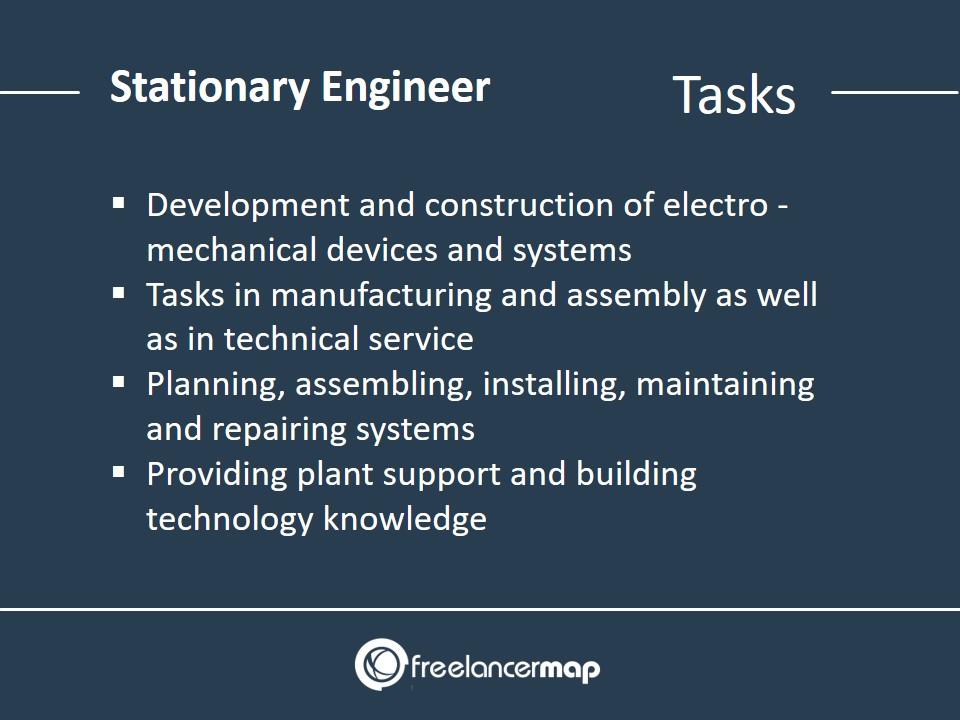 Stationary Engineer - Responsibilities