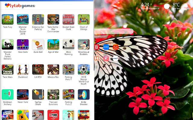 Aesthetic Butterfly Wallpapers New Tab
