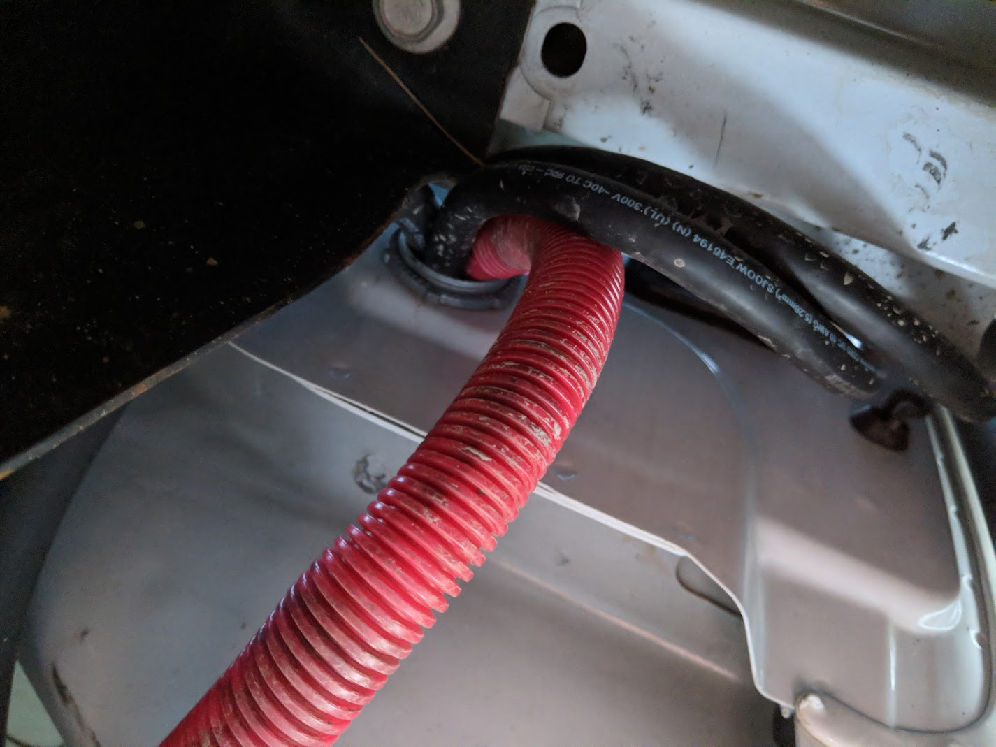 2017 Silverado Hd Large Inverter 3kw Install Chevy And Gmc Wiring Loom Home Depot Update The Looks A Lot Cleaner With These Maxliner Floor Mats Covering Cables Routed Under Back Seat