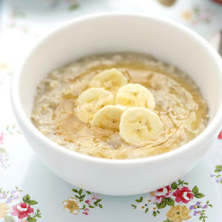 Apple and Banana Oatmeal