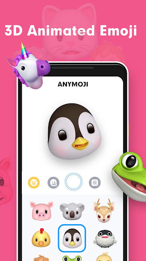 Anymoji-3D Emoji Avatar & Face Cam 1.0.8 screenshots 1