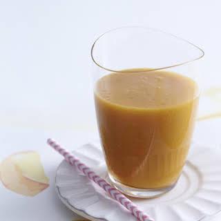 White Peach Tea Smoothie.