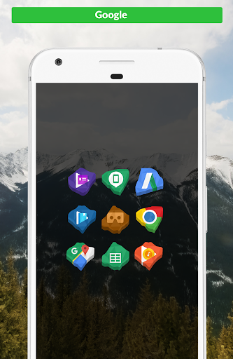 Crystal - Icon Pack app for Android screenshot