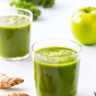 Ginger Green Apple Smoothie.