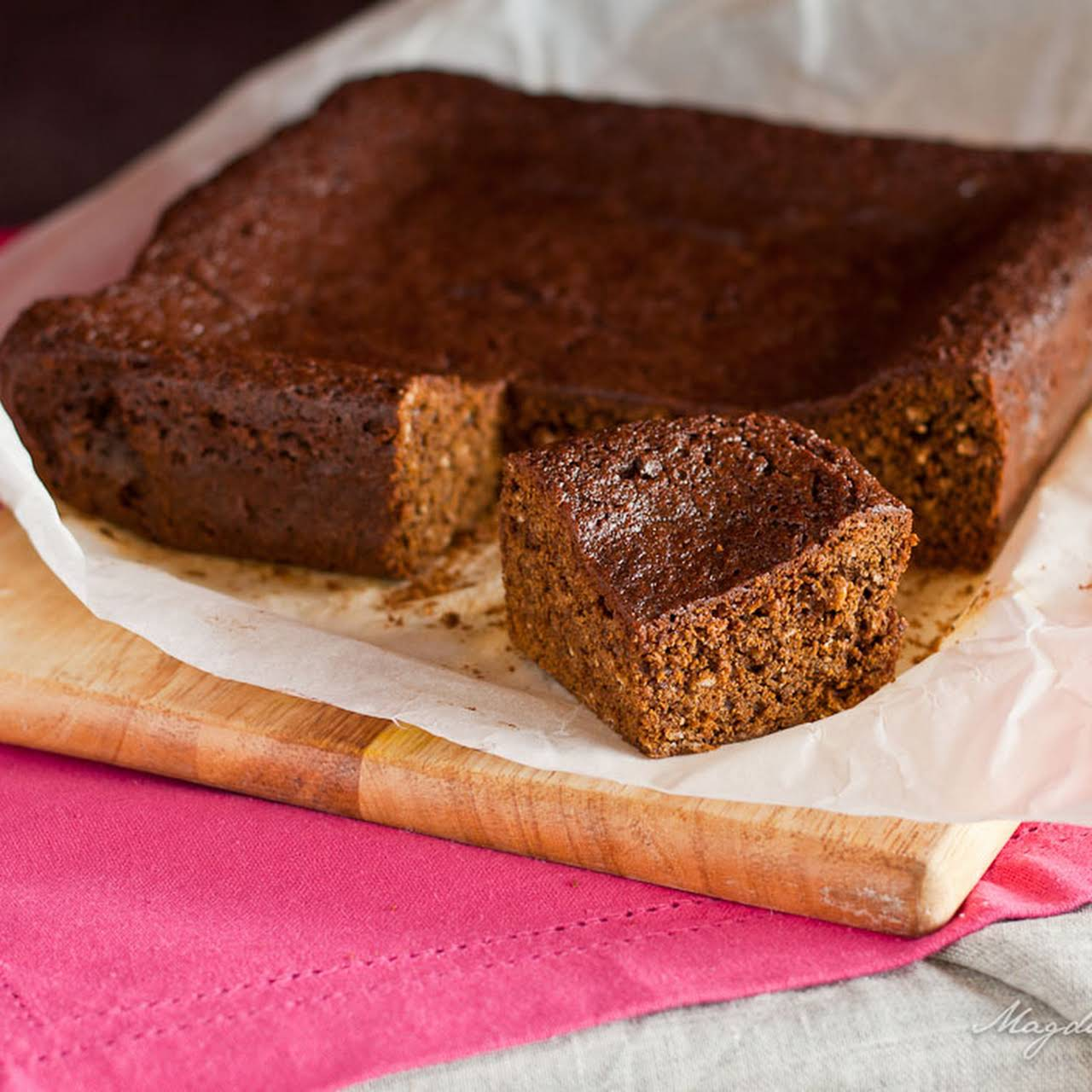 Parkin – Yorkshire gingerbread