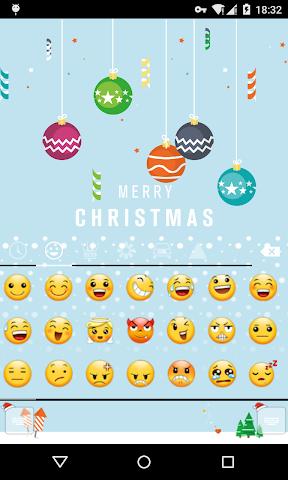 android Emoji Keyboard-First Snow Screenshot 3
