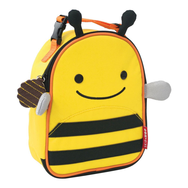 Skip Hop Zoo Lunchie Insulated Lunch Bags - Bumble Bee by GREEN WHEEL INTERNATIONAL SDN BHD
