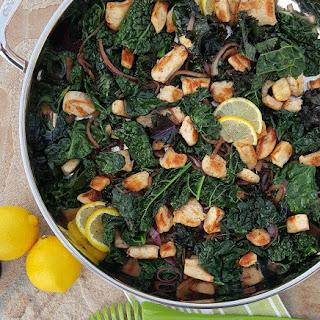 Lemon Pepper Chicken & Kale Stir Fry Recipe