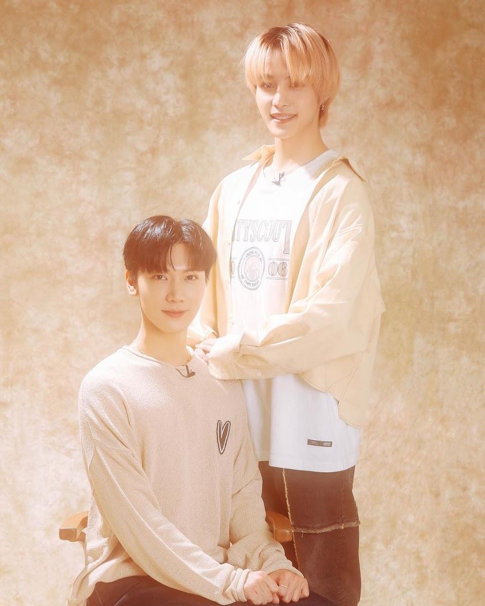 ten and yangyang 90s vibes