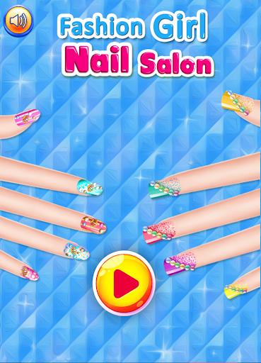 Fashion Girl Nail Salon  {cheat|hack|gameplay|apk mod|resources generator} 1